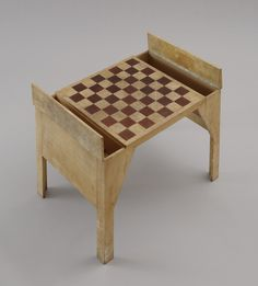 Jean-Michel Frank with Man Ray. Chess Table. 1929