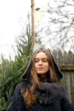 Adventure | Made by Wild Mantle | Scarf | Hood | Cowl | Sweater | Artisan | Handmade | Made in USA | Upcycled | Women's Fashion | Bohemian | Chic | Knits |