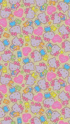 Hippie Wallpaper, Trippy Wallpaper, Iphone Background Wallpaper, Retro Wallpaper, Sanrio Wallpaper, Hello Kitty Wallpaper, Kawaii Wallpaper, Iphone Wallpaper Tumblr Aesthetic, Aesthetic Pastel Wallpaper