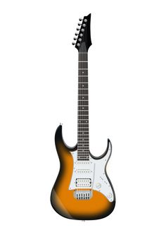 Ibanez Electric Guitar by @ejmillan, Ibanez GRG140 Electric Guitar Brown SunburstGuitarra eléctrica Ibanez GRG140 Brown Sunburst, on @openclipart