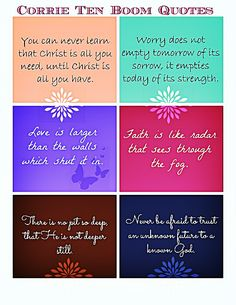 Corrie Ten Boom quote chart http://reneeannsmith.com/a/free-graphics-wise-words/