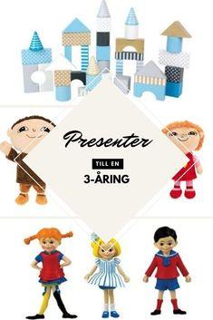 Presenttips till treåringar | En sida med massor av presenttips som 3-åringar tycker om att få. Ge 3-åringen en perfekt födelsedag med de rätta presenterna!