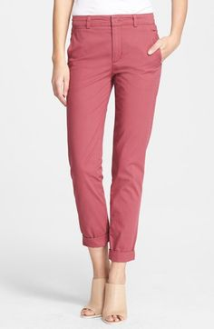 Free shipping and returns on Vince Boyfriend Trousers at Nordstrom.com. Blanched trousers make essential weekend wear with their relaxed yet tailored fit finished with rolled cuffs.