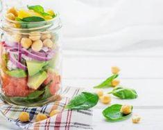 Salade fraîche minceur en bocal