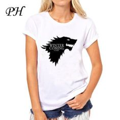 new-women-s-t-shirt-game-of-thrones-shirt-winter-is-coming-stark-wolf-funny-casual-1