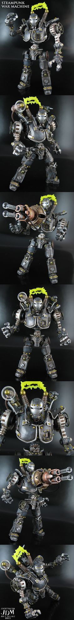 Steampunk War Machine by Jin Saotome