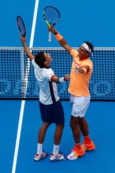 Rafael Nadal and Pablo Carreno Busta win China Open doubles title