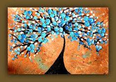 Asian art tree