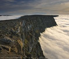 Ocean of clouds, Iceland, West Fjords. From cedric_g's stunning Iceland album on Flickr.