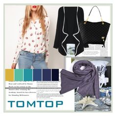 """TOMTOP+ 18"" by damira-dlxv ❤ liked on Polyvore featuring vintage"