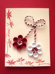 Quilling Seasons Quilling Butterfly, Paper Quilling Flowers, Quilling Craft, Quilling Designs, Xmas Crafts, Diy Christmas Gifts, Decor Crafts, Diy And Crafts, Paper Crafts