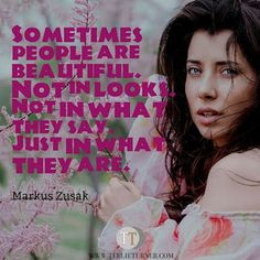 Quotes of the Day www.teelieturner.com Sometimes people are beautiful... #inspirationalquotes