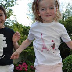 T-shirt enfant 'Paris' Zazazou