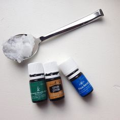 Last night my husbands back was bothering him from moving some boxes. In between visits to our chiropractor I take some coconut oil with a drop or two each of panaway, copaiba and peppermint and rub it all over his back. These three are great for sore muscles and inflammation. If you workout a lot make a bigger batch and store it in a glass jar to take with you! An added bonus is that these three all come in the Young Living starter kit! #youngliving #essentialoils