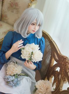 cosplay Sophie - Howl's Moving Castel by Lucia