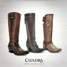 Disponibles en Tienda en Línea Cuadra. #cuadra#2017#moda#fashion#boots#botadama#look#style