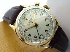 Vintage Vulcain Cricket Alarm Watch