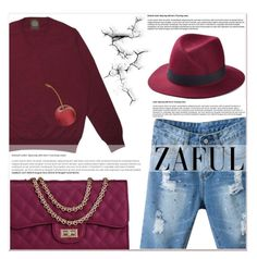 """""""www.zaful.com/?lkid=7011"""" by lucky-1990 ❤ liked on Polyvore featuring women's clothing, women's fashion, women, female, woman, misses, juniors and zaful"""