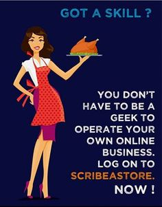 #ScribeAStore has simplified the entire process of launching your own #ecommerce store. Now, the #homemakers do not have to think twice before making a #business out of their #skills. #onlinebusiness #eTail #homebusiness #onlineretail #HowToUseDay