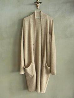 △☆idb #neutrals #fashion #style long cardigan