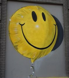 by Fanakapan in Worcester, Massachusetts, 8/16 (where the smiley face icon originated in 1963, LP)