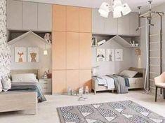 53 Ideas for children room boy creative Boys Room Design, Kids Bedroom Designs, Room For Two Kids, Room Kids, Kids Rooms, Child Room, Boy Rooms, Room Interior, Design Case
