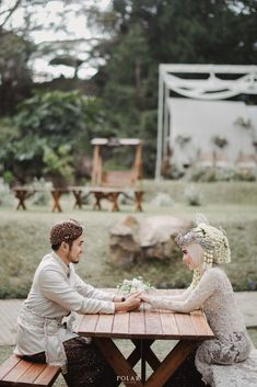 Wedding Dress Types, Hijab Wedding Dresses, Pre Wedding Poses, Pre Wedding Photoshoot, Foto Wedding, Dream Wedding, Kebaya Wedding, Muslimah Wedding, Akad Nikah