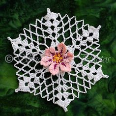 Every once in a while, I design a snowflake that knocks my socks off and bumps one of my longtime favorites from  my own personal top ten l...