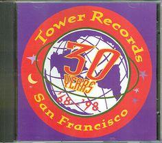 Tower+Records+San+Francisco | CENT-CD-V-A-Tower-Records-San-Francisco-30-Years-68-98-JANIS-JOPLIN ... Janis Joplin, Tower Records, Chicago Cubs Logo, 30 Years, Team Logo, 30th, San Francisco