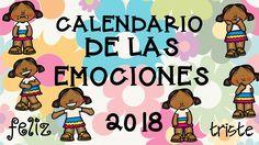Calendario para trabajar las emociones por meses CURSO 2017-2018 Desde imágenes educativas y como siempre pensando en nuestros seguidores y seguidoras hemos preparado un calendario totalmente EXCLUSIVO Y ORIGINAL para vosotros y vosotras que...