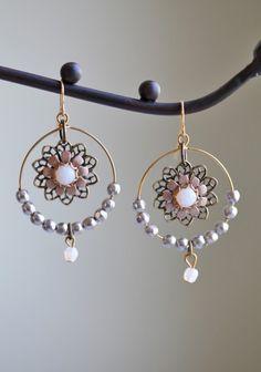 Demesne Floral Indie Earrings