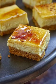wonderkitchen: Creme Brulee Cheese Cake Squares