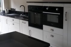 An Innova Shelley Mussel Kitchen - http://www.diy-kitchens.com/kitchens/shelley-mussel/details/