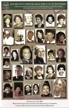 Alpha Kappa Alpha's unforgettable, unsung heroes of the Civil Rights Movement.