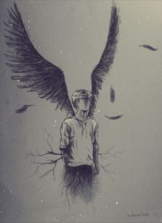Guys go check out this fic. It's amazing! Read Prologue from the story Fallen Angel(Newt Fanfic) by with 622 reads. Art Sketches, Art Drawings, Art Du Croquis, Newt Maze Runner, Arte Obscura, Desenho Tattoo, Drawing People, Dark Art, Art Blog