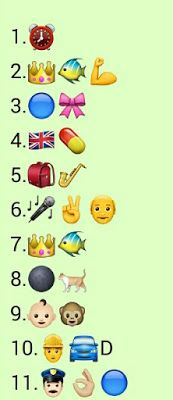 {Latest} Top 10 Whatsapp Puzzles Quiz with answers 2019 Puzzles And Answers, Riddles With Answers, Jokes And Riddles, Hidden Words In Pictures, Hidden Picture Puzzles, Guess The Emoji Answers, Quiz With Answers, Funny Quiz Questions, Trivia Questions And Answers