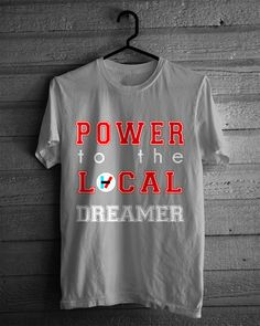 Twenty One Pilots Power To The Local Dreamer by HeyYoungBlood, $19.95