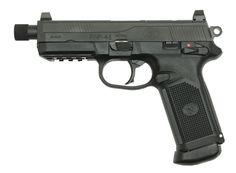 FN FNP45 TACTICAL BLK 15+1 X 3 - Impact Guns