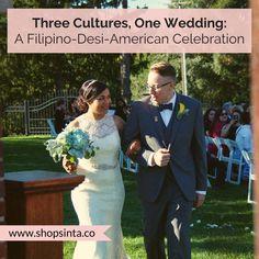 3 Cultures, 1 Wedding: A Filipino-Desi-American Wedding Celebration – Sinta & Co. Wedding Blog, Our Wedding, Filipino Wedding, Print Thank You Cards, Filipino Culture, American Wedding, Getting Engaged, Celebrity Weddings, Love Story