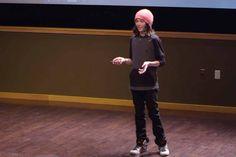 Esto Es Lo Que Pasa Cuando Un Niño De 13 Años Abandona La Escuela.- Logan Laplante es un niño de 13 años que fue sacado del sistema tradicional de educación para ser enseñado en casa, mira su video y aprende, tiene mucho que enseñarte.