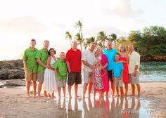 Oahu Family Photography, Waikiki Photographer, Photos at the Beach Hawaii, Large Family Group Beach Photos on Oahu,  KoOlina Photographer, Best, Affordable www.jenniferbrotchie.com