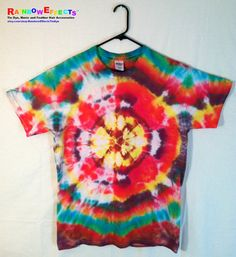 Tie Dye Tshirt   Technicolor Dream only by RainbowEffectsTieDye, $12.50