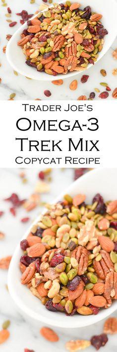 Trader Joe's Omega-3 Trail Mix Copycat Recipe
