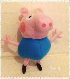 George Pig em feltro