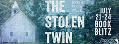 Tome Tender: The Stolen Twin by Michele Pariza Wacek Blitz and ...GIVEAWAY!  A signed copy of Mirror Image  and $10 Amazon gift card  Ends July 28, 2016
