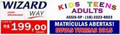 WIZARD ASSIS - Escola de Idiomas: WIZARD WAY - INGLÊS PERSONALIZADO