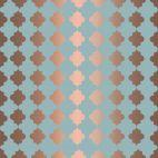 Muster-Motiv,Stoff Motiv, orientalisches Muster und Kupfer,Fabric motif oriental pattern and copper,