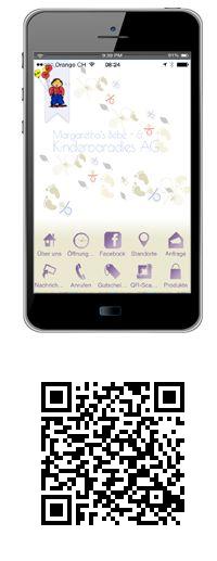 Margaretha's Bebe- + Kinderparadies AG bietet für Sie jetzt auch die Möglichkeit des Online-Shoppings der neuen Art - und zwar auf Ihrem Smartphone!