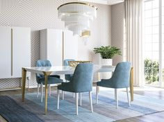 A Portuguese Furniture enterprise, from interior design to luxury furniture production, Jetclass provides luxury home decor refinement and customization! Luxury Home Decor, Luxury Homes, Dining Chairs, Dining Table, Dining Room Inspiration, Luxury Furniture, Modern Decor, Contemporary, Interior Design