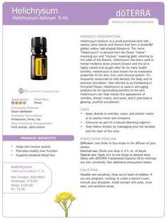 doterra tea tree   uses | doTERRA Helichrysum Essential Oil 5 ml - My Natural Family